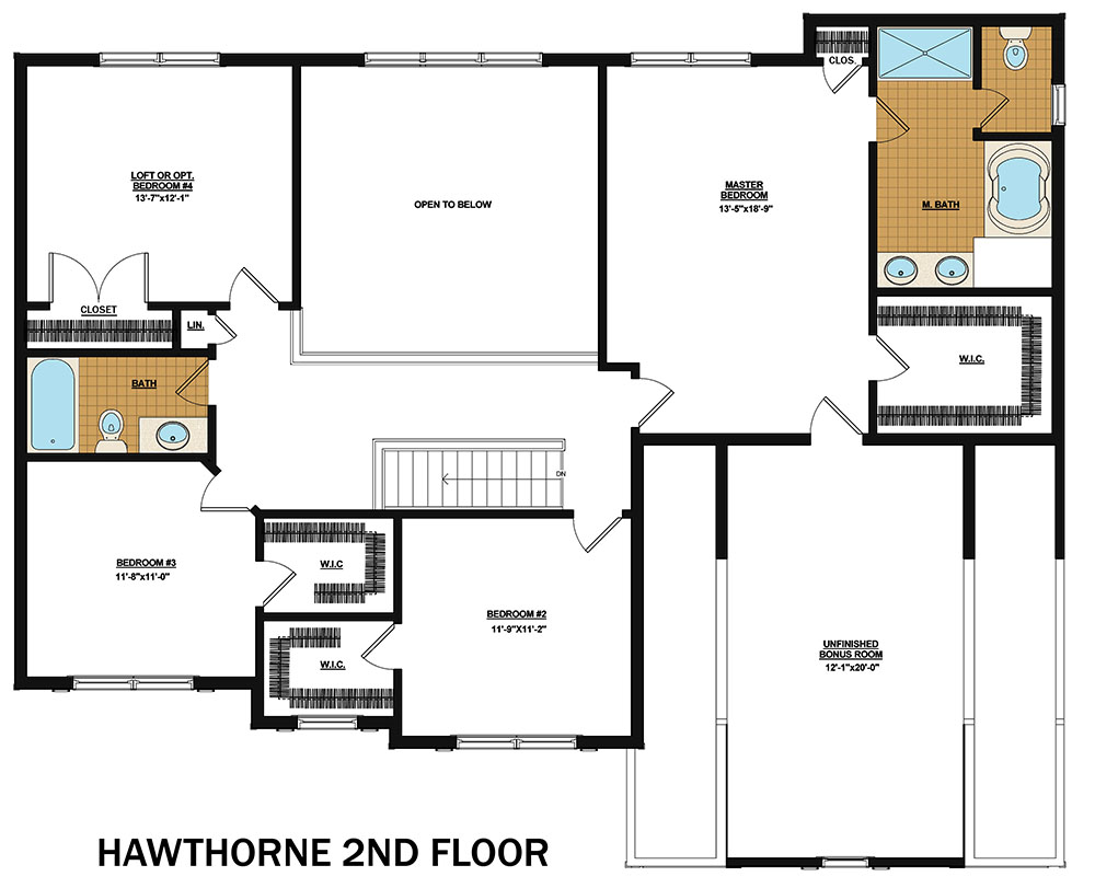 The Hawthorne By Rosewood Home Builders Custom House