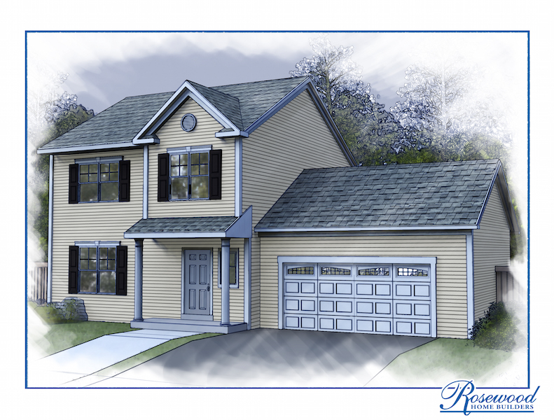 The Princeton By Rosewood Home Builders Custom House